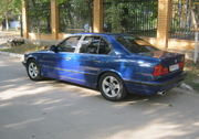 BMW 5 series bright blue